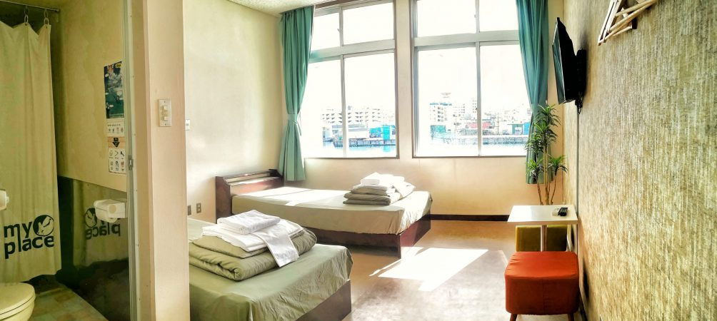 myplace twin room