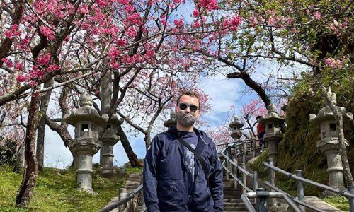 Okinawa sakura entree du parc